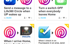 Life360 IFTTT channel recipes (1)