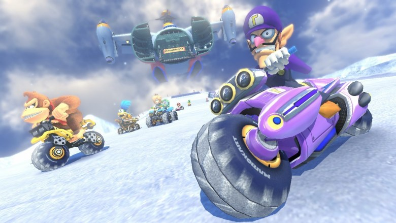 Mario Kart 8 was the second best-selling game of the month.