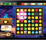 Mind Candy's Moshling Rescue Match 3 game