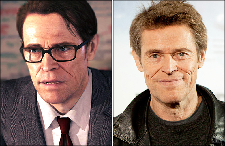 Willem Dafoe as Nathan Dawkins