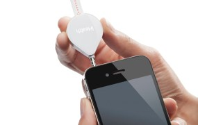 Picture iHealth Align - Device with iPhone