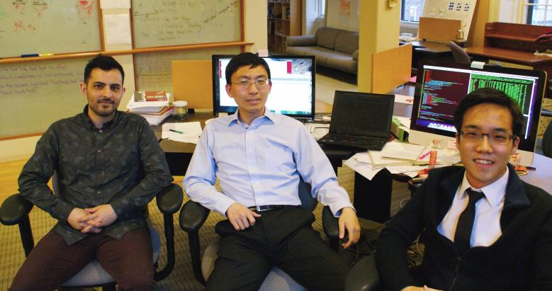 ProtonMail founders Jason Stockman, Wei Sun, and Andy Yen.