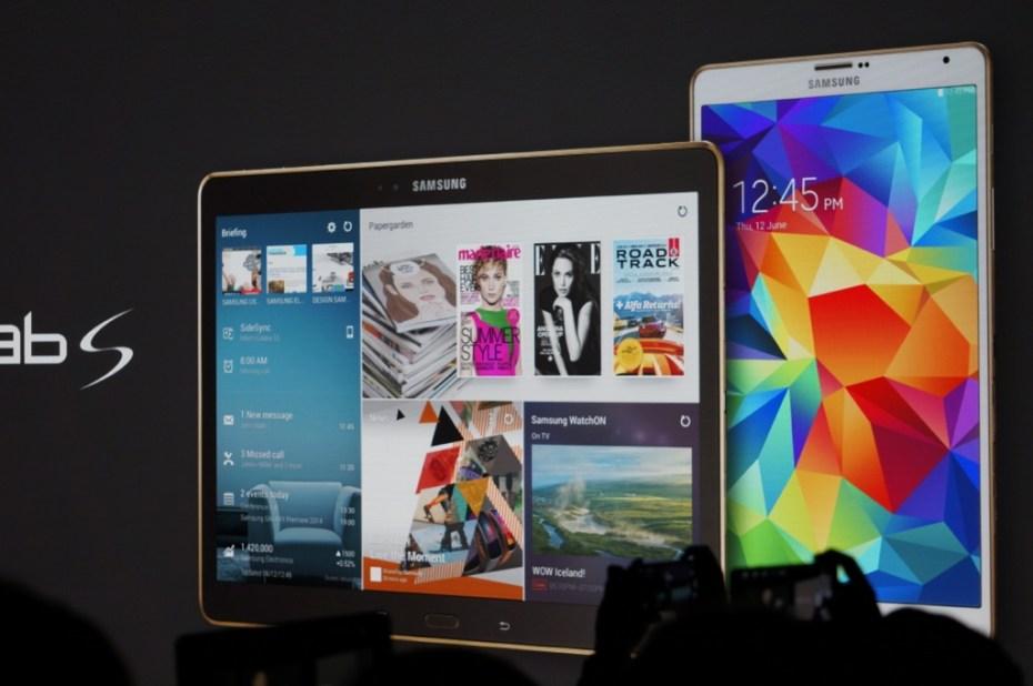 Samsung's Galaxy Tab S tablets