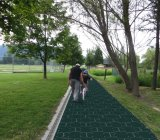 Sturdy solar panels could pave roads, highways, or even bike paths.