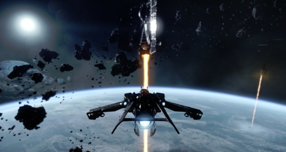 Star Citizen in action for the PC.