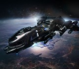 A freelancer ship in Star Citizen.