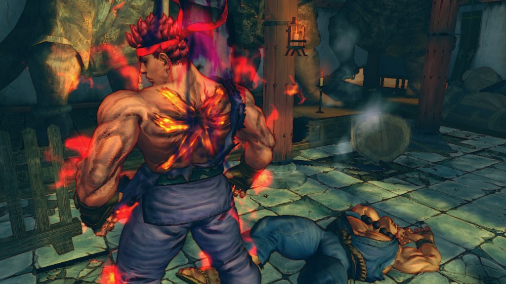 Super Street Fighter IV Arcade Edition Evil Ryu