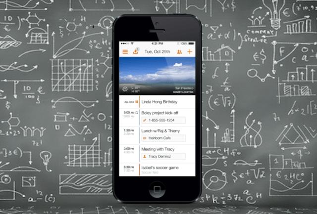 Tempo's smart calendar app
