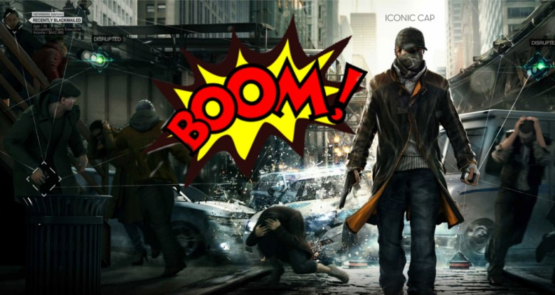 Watch Dogs is an explosive game.