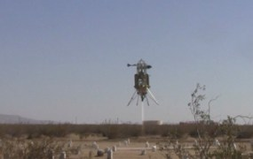 Astrobotic's Xombie in action