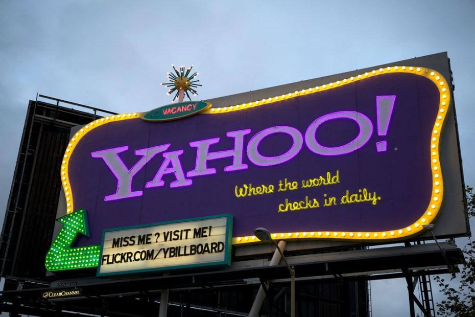 Yahoo billboard Scott Schiller Flickr