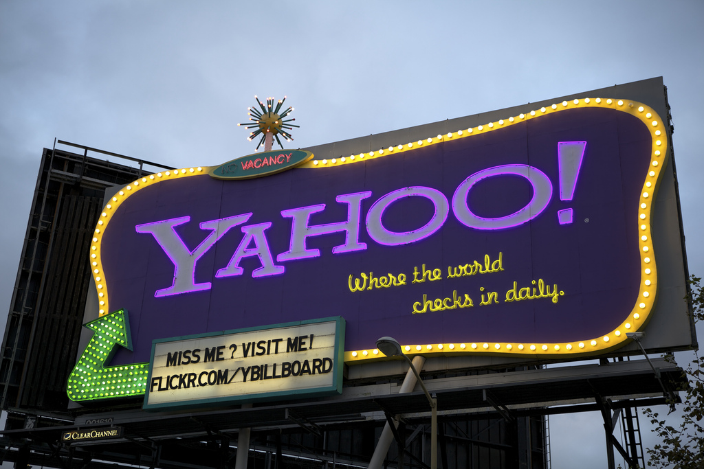 Yahoo billboard Scott Schiller Flickr