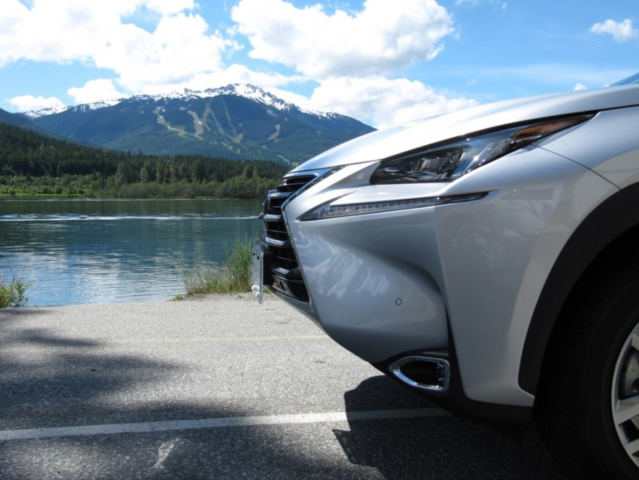 The 2015 Lexus NX 300h hybrid.