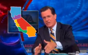 Colbert Report on Six Californias