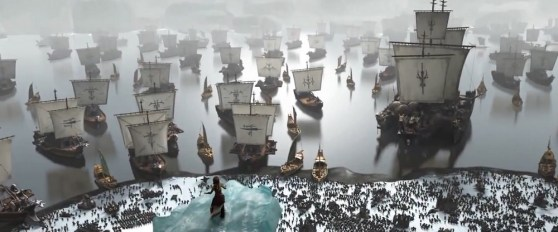 Ship scene in How to Train Your Dragon 2