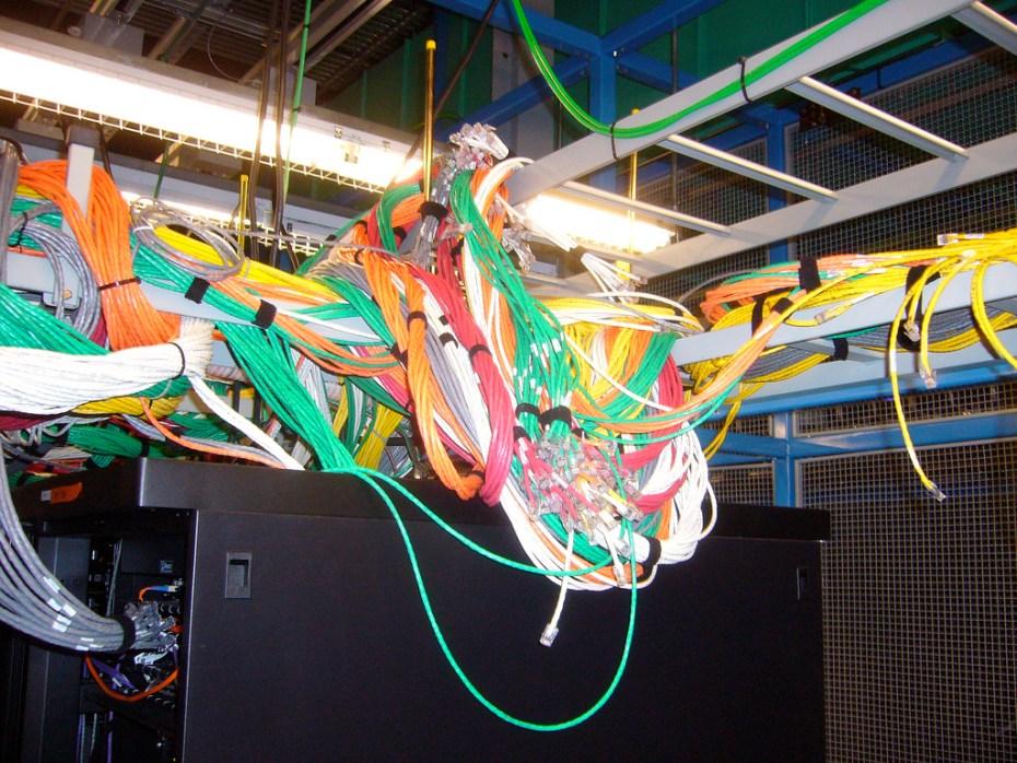 Ethernet cables Phil Hollenback Flickr