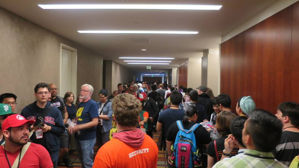 The halls of GaymerX2 were littered with Nintendo 3DS Streetpasses and impromptu gameplay sessions.