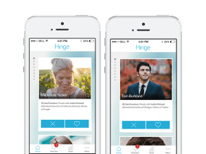 Hinge -- screenshots