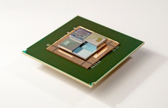 IBM 3D chip stack