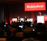 AT&T's president of emerging devices Glenn Lurie & strategy consultant Lisa Oshima at MobileBeat 2014