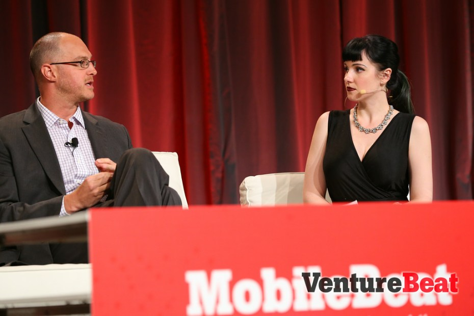 NASCAR's Colin Smith talks to VentureBeat's Jolie O'Dell at MobileBeat.