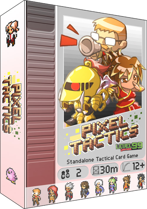 Pixel Tactics box art