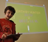Sam Smith, 12-year-old creator of Spacepants for iOS and Android.