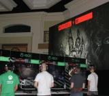 2K and Turtle Rock's 4-on-1 shooter Evolve had a major presence at the Xbox Lounge at the nearby Hyatt Hotel during Comic-Con in San Diego.