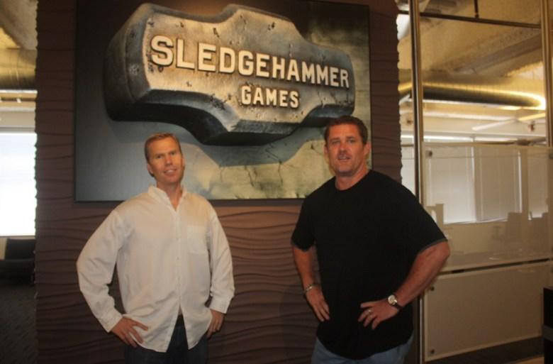 Sledgehammer Games founders Michael Condrey and Glen Schofield.