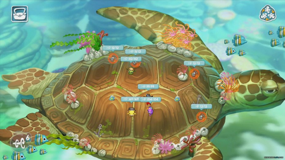 Squids Odyssey for the Wii U.