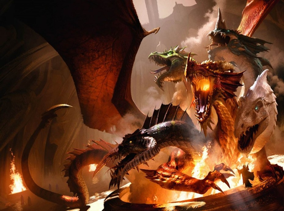The new edition of D&D and the new expansion for the Neverwinter MMO deal with one of the most iconic gods and monsters: Tiamat.