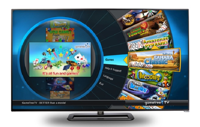 TransGaming's GameTree TV on Vizio TVs.