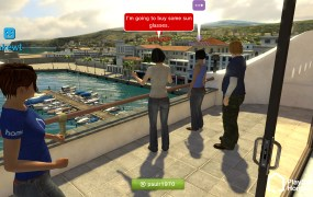 PlayStation Home on the PS3.
