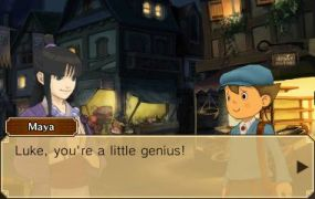 Professor Layton vs Phoenix Wright screen shot 3