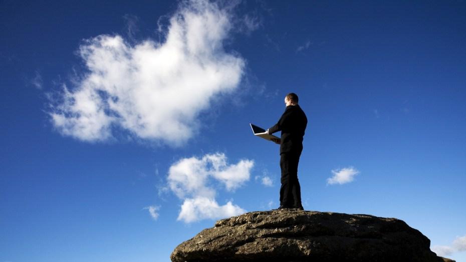 Cloud man George Thomas Flickr