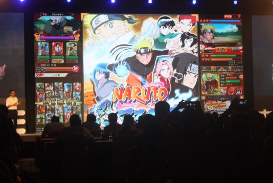 Naruto brand on display at CMGE's surreal event.
