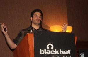 Daniel Buentello of UCF at Black Hat
