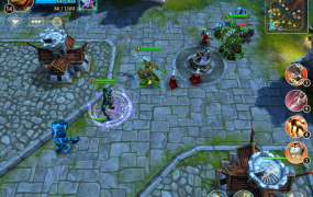 Gameloft's mobile MOBA gets built-in Twitch broadcasting to help it build an audience.