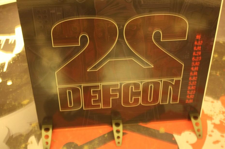 Defcon 22 sign
