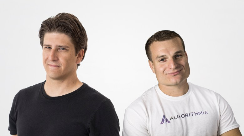 Kenny Daniel and Diego Oppenheimer, the founders of Algorithmia.