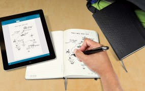 Livescribe and Moleskine have created paper-based interactive notebook that work with a smartpen.