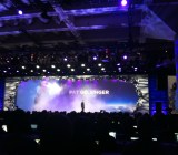 VMware chief executive Pat Gelsinger takes the stage at VMworld in San Francisco on Aug. 25.