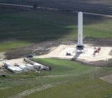 The SpaceX rocket development lab in McGregor, Texas.