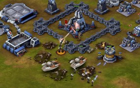Star Wars: Commander in action on mobile.