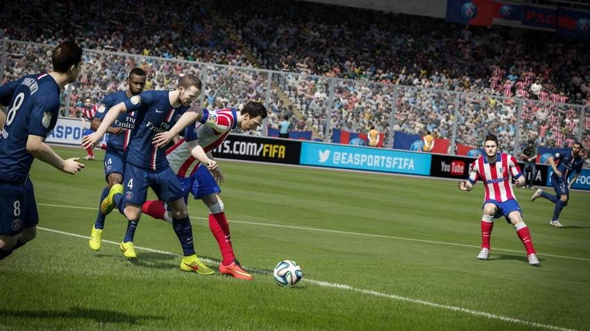 FIFA 15 is one of the games helping EA make money from digital on consoles.