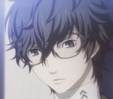 The hero of Persona 5 looks like he could be on his way to Hogwarts.