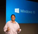 Microsoft's operating systems head, Terry Myerson