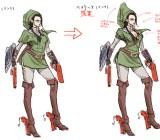 Bayonetta Link art
