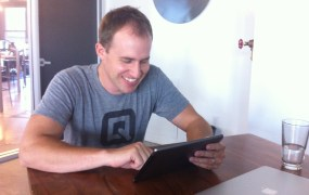 Quip co-founder and chief executive Bret Taylor at the startup's office in San Francisco.