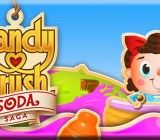 Candy Crush Soda Saga from King.